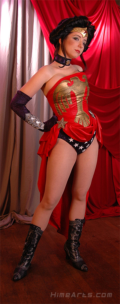 Wonder Woman Amazonia by Riddle1