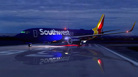 Southwest Airlines Boeing 737 8H4