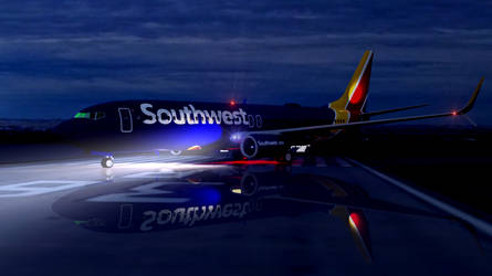 Southwest Airlines Boeing 737 8H4-2