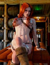 Red Sonja - Tavern table
