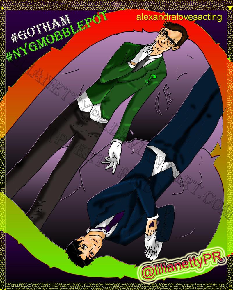 Nygmobblepot - Gotham Season 3 - LilianettyPR by LilianettyPR