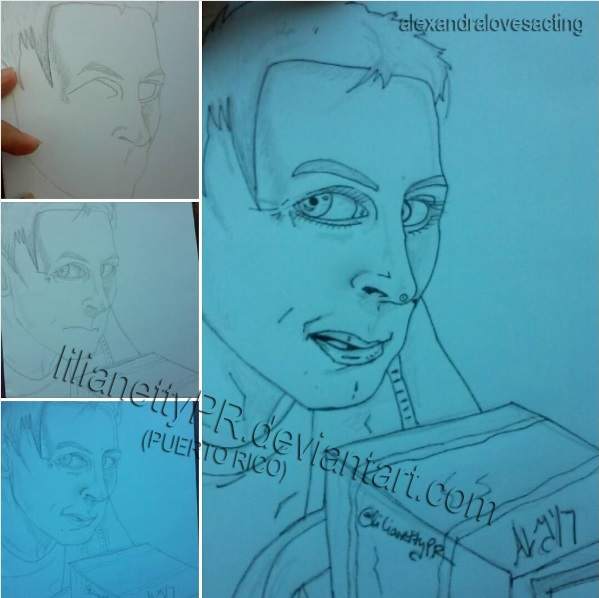 Robin Lord Taylor - EAT ME Penguin - Process by LilianettyPR