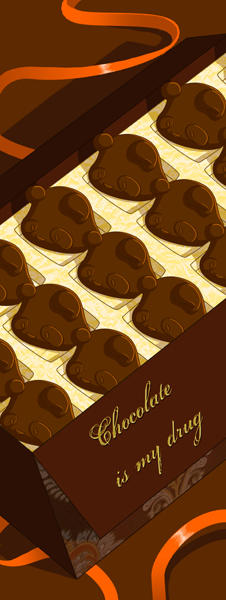 Chocolate is my drug