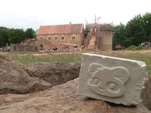 BdC was in Guedelon
