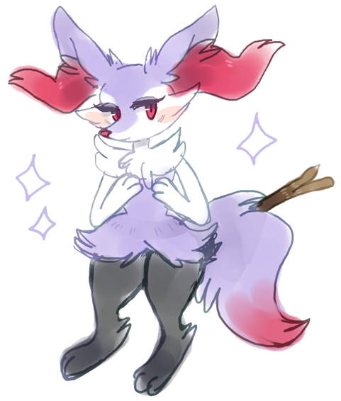 shiny braixen * by kitself on DeviantArt