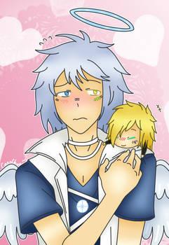 Shy angel-