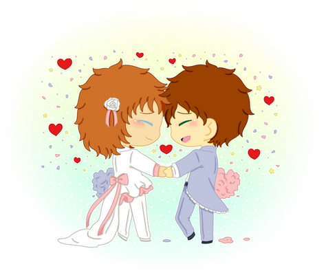 + And they lived happily ever after +