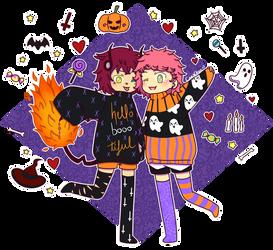 + Halloween night +