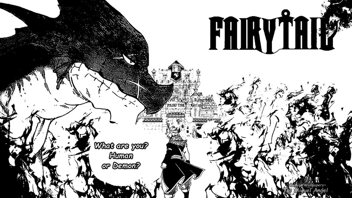Fairy Tail Manga Wallpaper Hd By Ladyofwallpapers