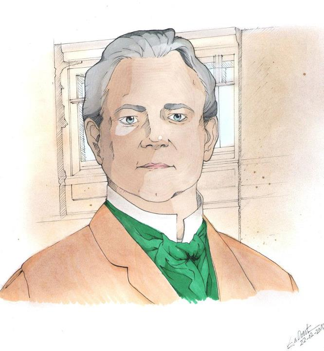 Hugh Bonneville by Doppeltganger