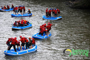 Games Session (Rafting Sungai Serayu) by SerayuRafting