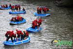 Games Session (Rafting Sungai Serayu)