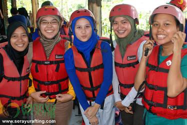 Powerpuff Girls (Rafting Serayu)