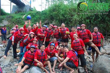 Merah Meriah Euy! (Rafting Serayu) by SerayuRafting