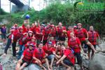 Merah Meriah Euy! (Rafting Serayu)