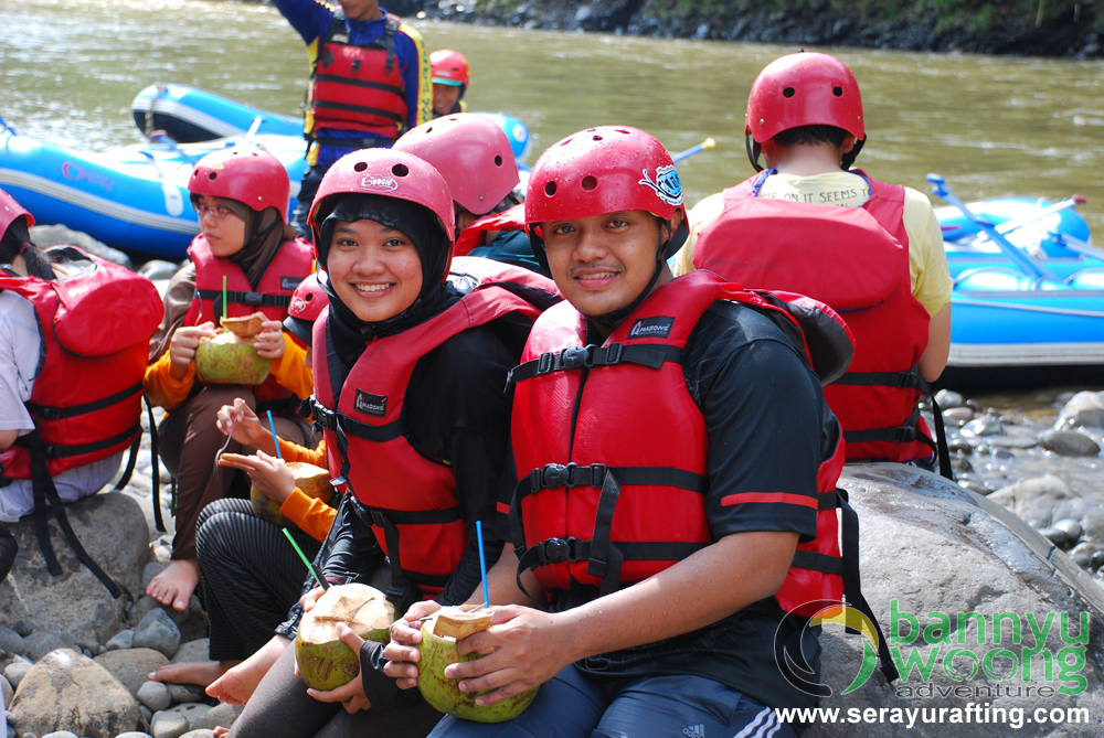 U and I (Rafting Serayu) by SerayuRafting