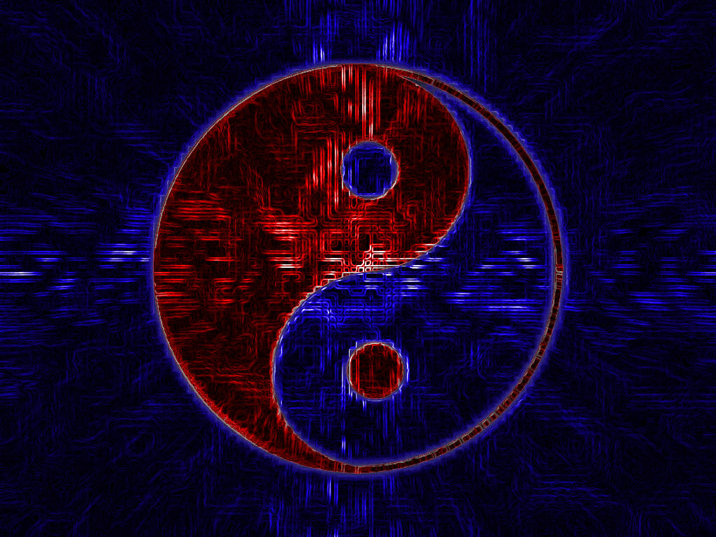 red and blue yinyang by neo nmo on deviantart. Black Bedroom Furniture Sets. Home Design Ideas