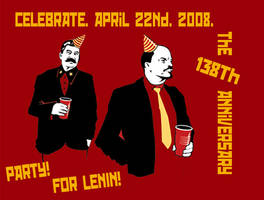 Lenin.138th.Anniversary.Party