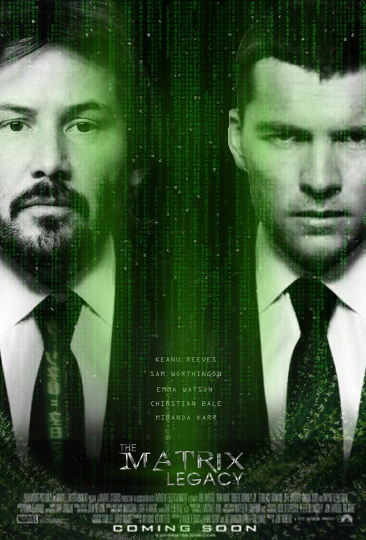 The Matrix Legacy Poster by LishieJayy on DeviantArt