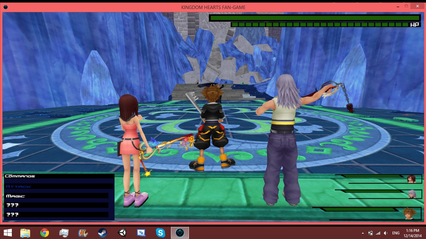 kingdom hearts online game