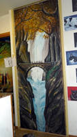 Bridge in Mirkwood: painted closet :)