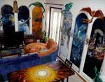Multifandom living room :3