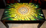 Summer Forest (painted coffee table) :)