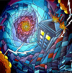 Time Vortex, stained glass style :)