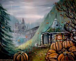 Gamekeeper's Autumn by WormholePaintings