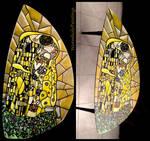 Klimt's Kiss (coffee table)