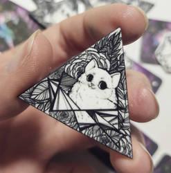 Cat pin by Caspalpo