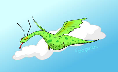 Little flying dragon