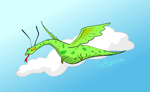Little flying dragon