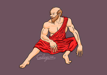 Socrates sitting