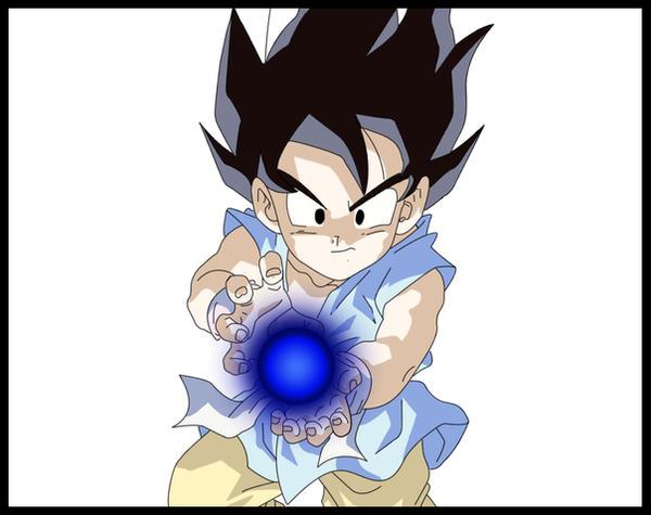 dragon ball pictures of goku. Dragon Ball GT - Goku - kameha