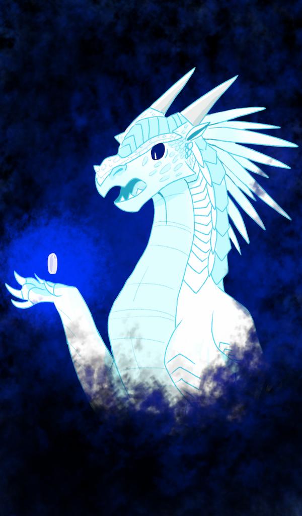 IceWing Dragon by Owlsbirb