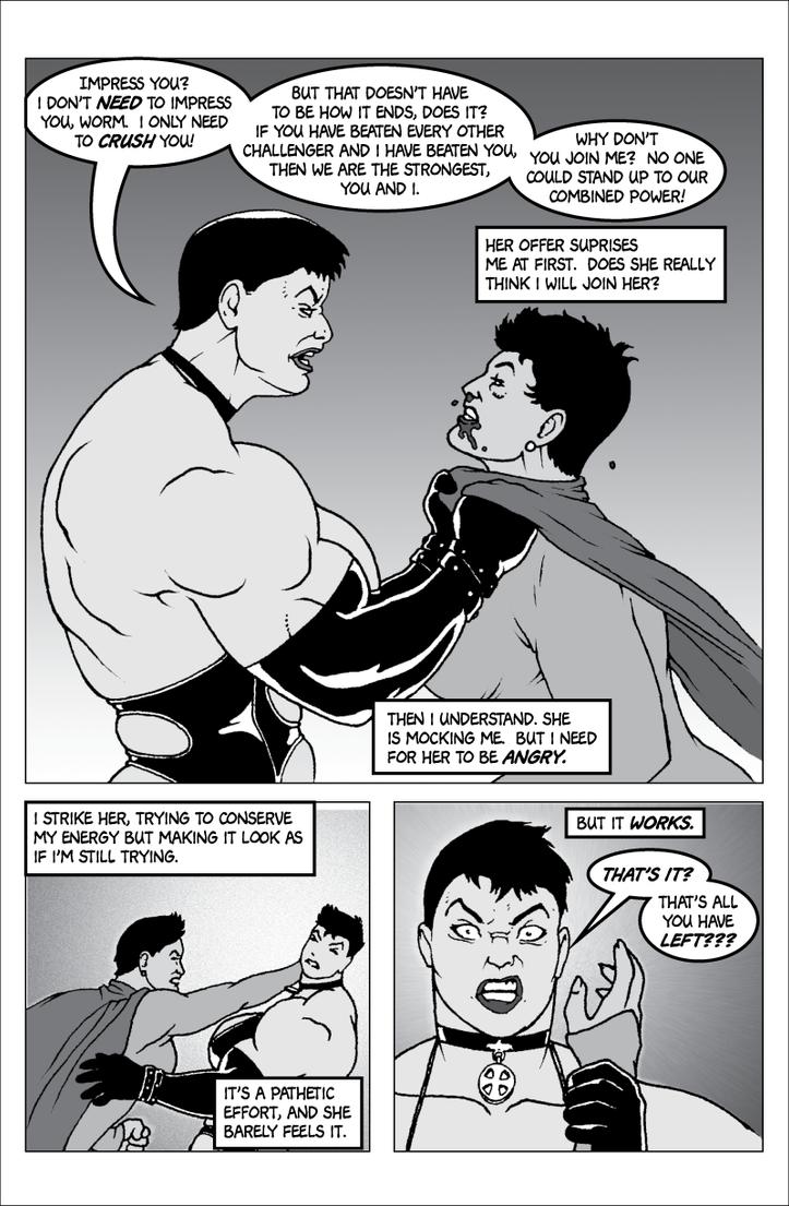 Soviet Superwoman vs Schadenfreude, page 3 by Tonuss