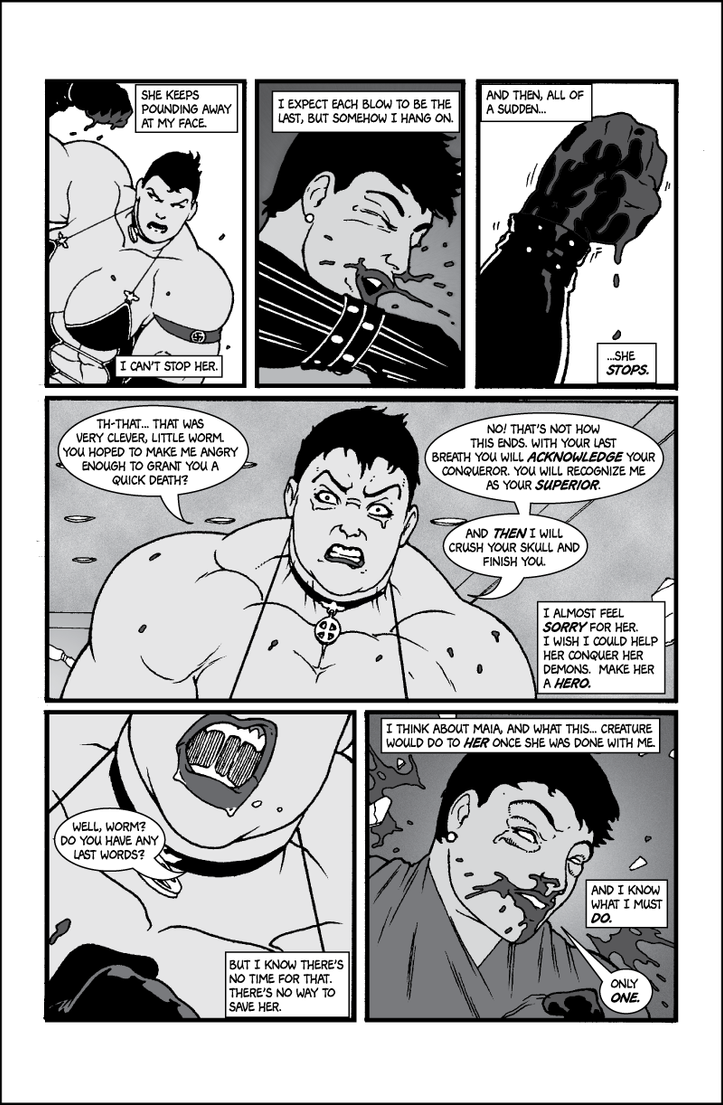Soviet Superwoman vs Schadenfreude, page 6 by Tonuss