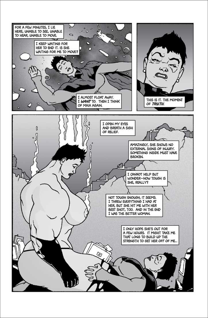 Soviet Superwoman vs Schadenfreude, page 8 by Tonuss