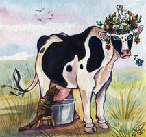 Vuvu the cow