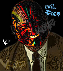 Devil Face by KayZ-NZ