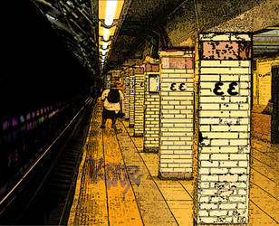 Deserted Subway by KayZ-NZ