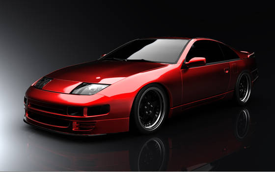 Nissan 300zx with SSRs