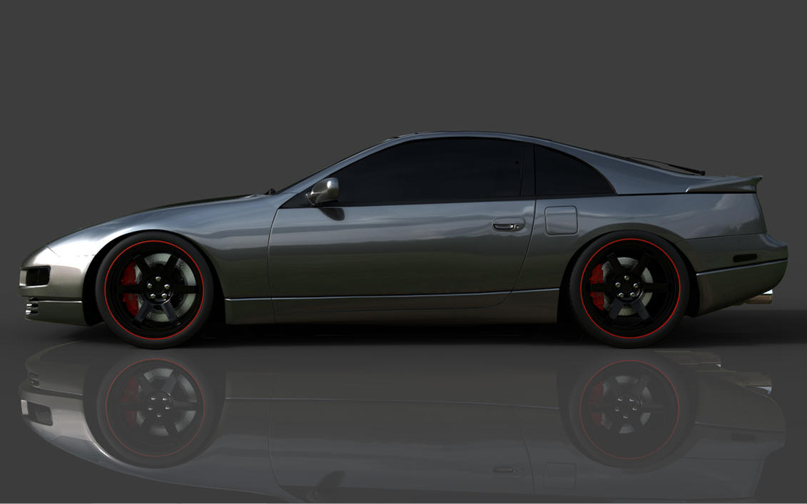 Nissan 300zx Z32 Volk Te37 S By Tsefreeflow On Deviantart