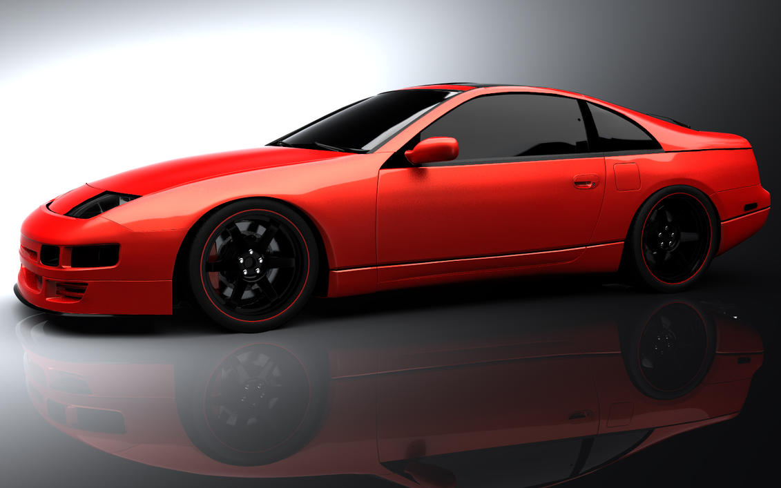 nissan 300zx z32 wingless 1 by tsefreeflow on deviantart. Black Bedroom Furniture Sets. Home Design Ideas