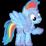 Rainbow Dash Vector - Rainbow Dashes New Armor