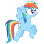 Rainbow Dash Vector - I'm Concerned About That...
