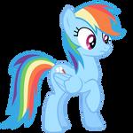 Rainbow Dash Vector - Oh...