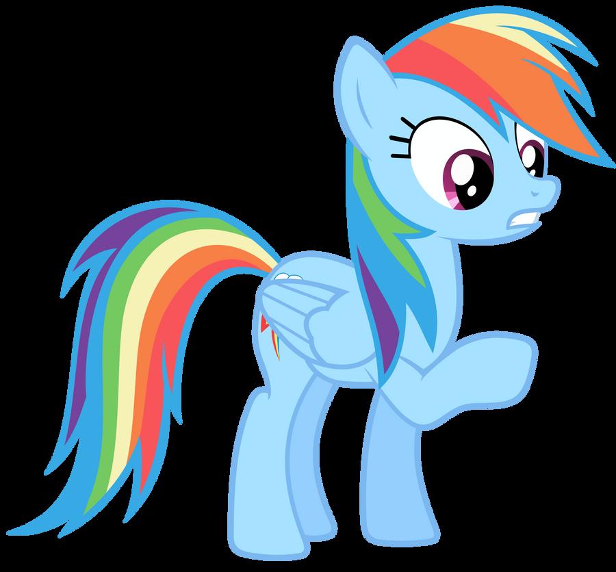 Rainbow Dash Vector - Um  Rainbow Dash Mlp Vector