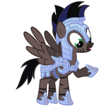 Stormy Vector - Crystal Pony Armor